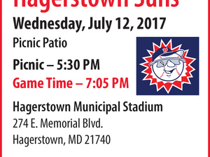 Hagerstown Suns Baseball Outing