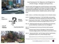 Local Development for Adaptation and Mitigation to Climate Change:  Strategies and Experiences