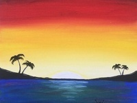 DoubleTree Palm Springs invites you to create art and memories at our Paint + Wine event on July 1