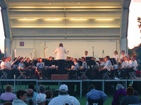 Rochester Concert Band at 4th of July Celebration
