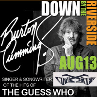 Burton Cummings of The Guess Who (at Think Mutual Bank's 'Down by the Riverside' Free Concert Series)