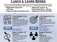 1-Page Business Plan (Business 101 Lunch & Learn)