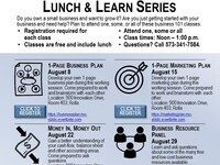 1-Page Marketing Plan (Business 101 Lunch & Learn)