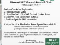 Missouri S&T Women's Football Clinic