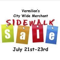Vermilion City Wide MERCHANT Sidewalk Sale