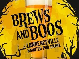 Brews and Boos- Lawrenceville Haunted Pub Crawl