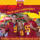 Trojan Family Weekend
