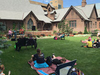 RavensFire at Lunch on the Lawn