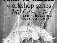 Farm to Needle - Intro to Fiber Processing @ Old Homestead Alpacas
