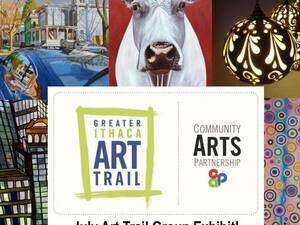 Gallery Night: Group Exhibit with Greater Ithaca Art Trail artists