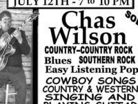 Showcase music event at the Corona Club - Featuring Chas Wilson
