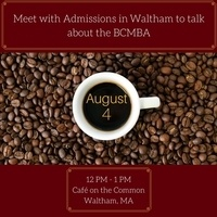 Off-Campus Coffee Chat with CGSOM Admissions