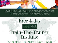 Green Dot Train-the-Trainer Institute