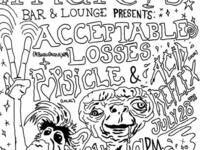 Acceptable Losses, Acid Reflex and Popsicle - live music @ Marcy's Bar & Lounge
