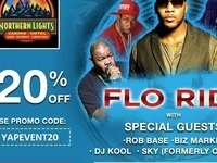 Flo Rida Performing Live in Northern Lights Casino On July, 29th