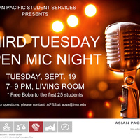Third Tuesday Open Mic Night