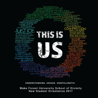 This Is Us: 2017 School of Divinity New Student Orientation