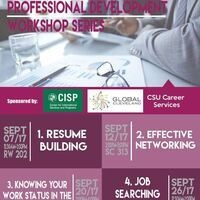 Professional Development Workshop Series