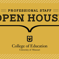 College of Education Professional Staff Open House with Dean Chval