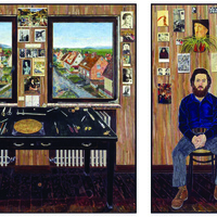Exhibition: The Lasting World: Simon Dinnerstein and The Fulbright Triptych