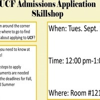 UCF Admission Application