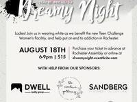 Dreamy Night Wear White a benefit for MN Adult and Teen Challenge Women's Center