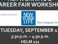 Networking & Career Fair Workshop