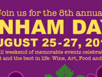 8th Annual Dunham Days! Weekend @ Dunham Cellars