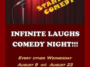 Infinite Laughs at Arena Tavern-Comedy Open Mic
