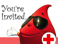 8th Annual Blood Drive - SAVE THE DAY