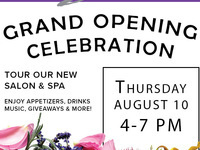 Serenity Couture Salon & Spa Grand Opening Party