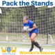 Pack the Stands: Women's Soccer v. Albertus Magnus