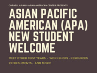 Asian Pacific American New Student Welcome
