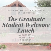 Graduate Student Welcome Lunch