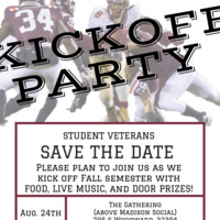 Student Veterans Fall Kick-Off Party