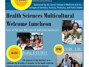 Health Sciences Multicultural Welcome Luncheon