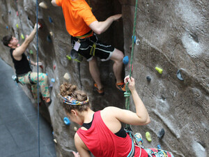 Intramural Climbing Competition