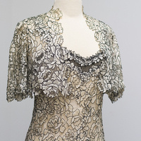 Object of the Month: Nancy Susan Reynolds's Evening Gown with Bolero Jacket