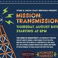WTMD & Union Craft Brewing present MISSION TRANSMISSION