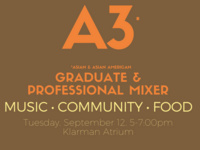 Asian & Asian American Graduate and Professional Mixer