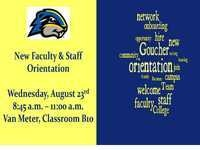New Faculty and Staff Orientation