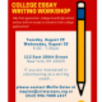 College Essay Writing Workshop