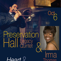 Preservation Hall Legacy Quintet with Irma Thomas