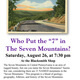 """Who Put the """"7"""" in the Seven Mountains?"""