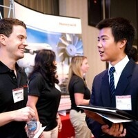 College of Business Employer in the Foyer