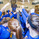 EC Saints Women's Volleyball Take On Framingham State