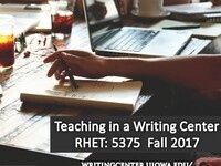 Teaching in a Writing Center