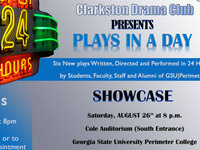 Third Annual Plays in a Day Festival
