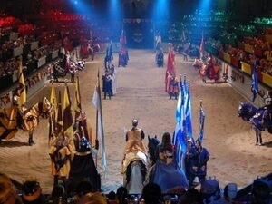 Homeschool Day at Medieval Times