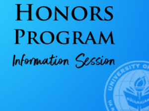 Honors Program Information Session